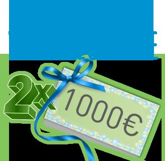 Aniversarea visurilor tale 2 x 1000 euro